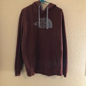 The North Face Maroon Hoodie